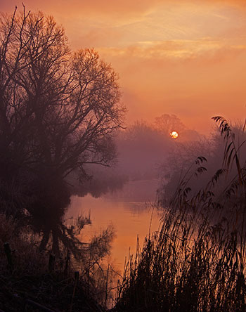 Sunrise on the Stour